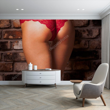 Perfect woman ass in...№308915212